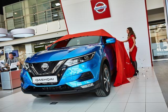 Презентация нового кроссовера Nissan Qashqai