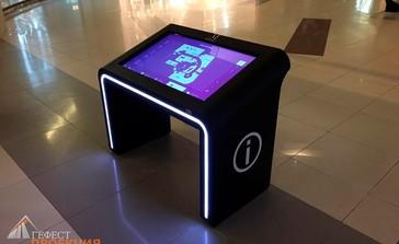 Поставка интерактивного оборудования для ТЦ Метрополис г. Москва