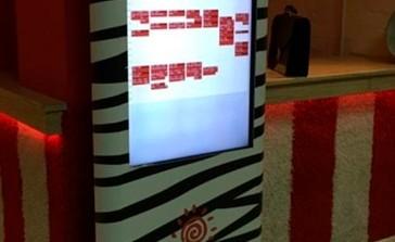 Поставка интерактивного оборудования и разработка программного обеспечения для сети фитнес клубов «Зебра»