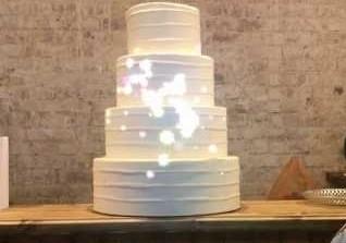 Проекция на торт - 3D mapping на ваше торжественное мероприятие. От 35.000 рублей