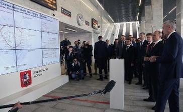 Видеостена на День Москвы для Московского метрополитена