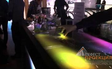 Интерактивный бар в аренду в дилерский центр Ауди Алтуфьево