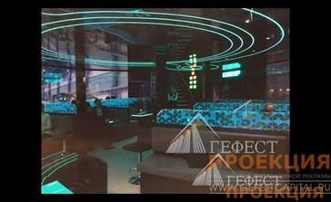 """Компания """"Гефест Проекция""""предоставила в аренду 12 голокубов и голографическую пирамиду 110 для выставочного стенда компании «Сибур»"""